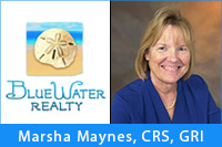 Marsha Maynes - Blue Water Realty
