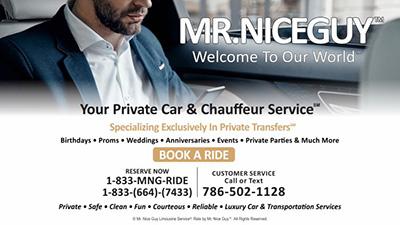 Mr. Nice Guy - Limousine & Chauffeur Service