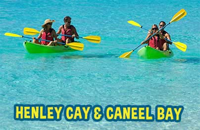 Best of Henley Cay and Caneel Bay Adventure