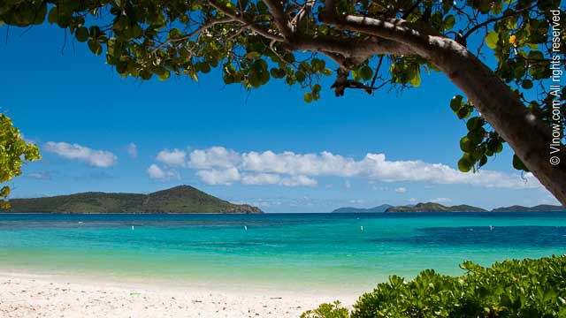Lindquist Beach Is One Of St Thomas Most Beautiful And Pristine Beaches It Part A Protected 21 Acre Area Called Smith Bay Park