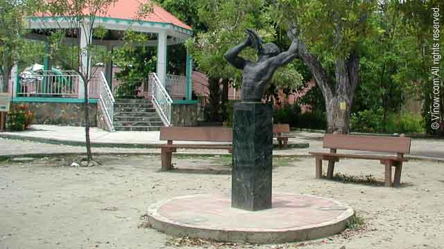 Cruz Bay Park Statue, St. John