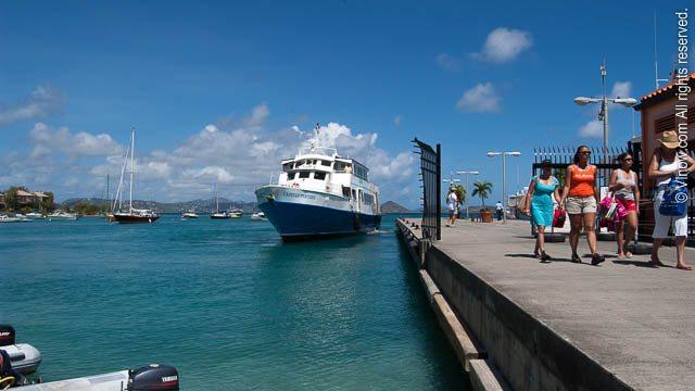 Cruz Bay Ferry Dock