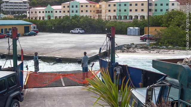 St. Thomas Car Barge Dock