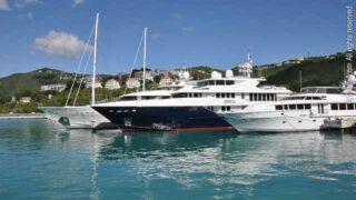 Mega Yachts, St. Thomas