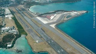 St. Thomas Airport Aerial