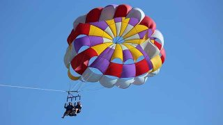 Parasailing Virgin Islands