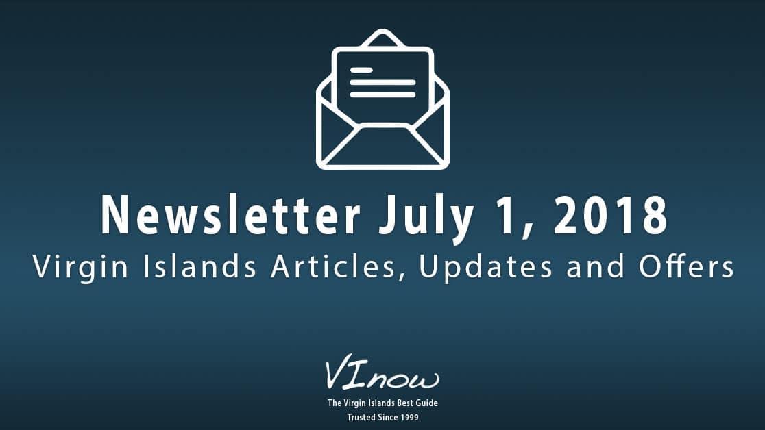 Summertime in the Virgin Islands: July!