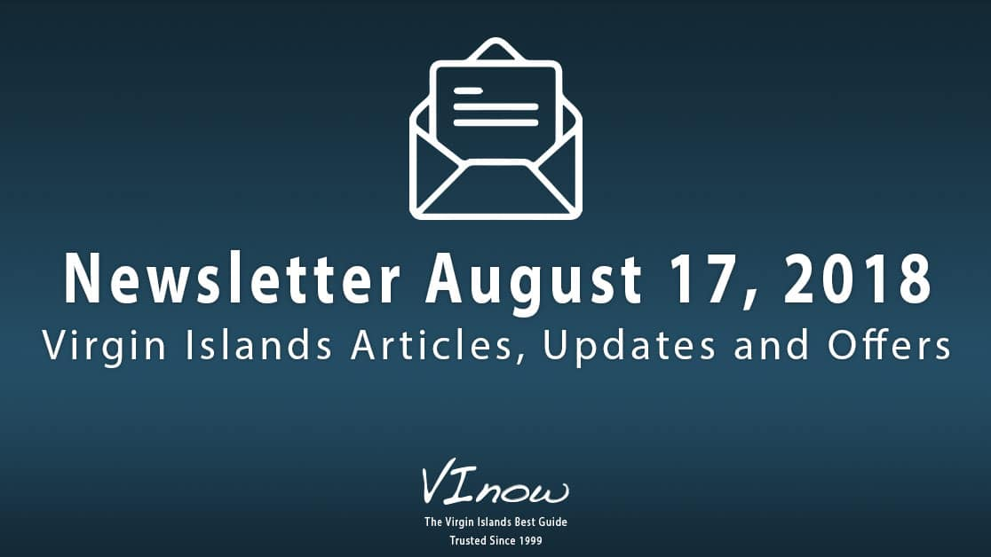 August FUN in the U.S Virgin Islands