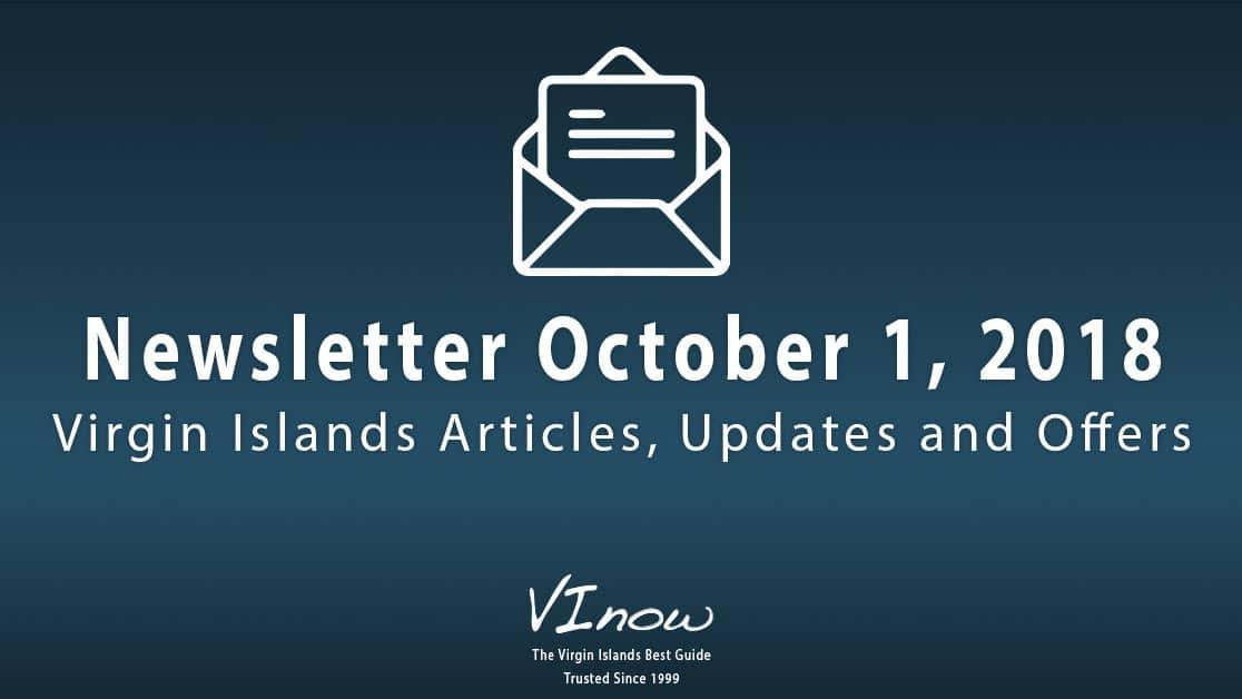 October in the Virgin Islands