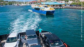 St. John Car Barge