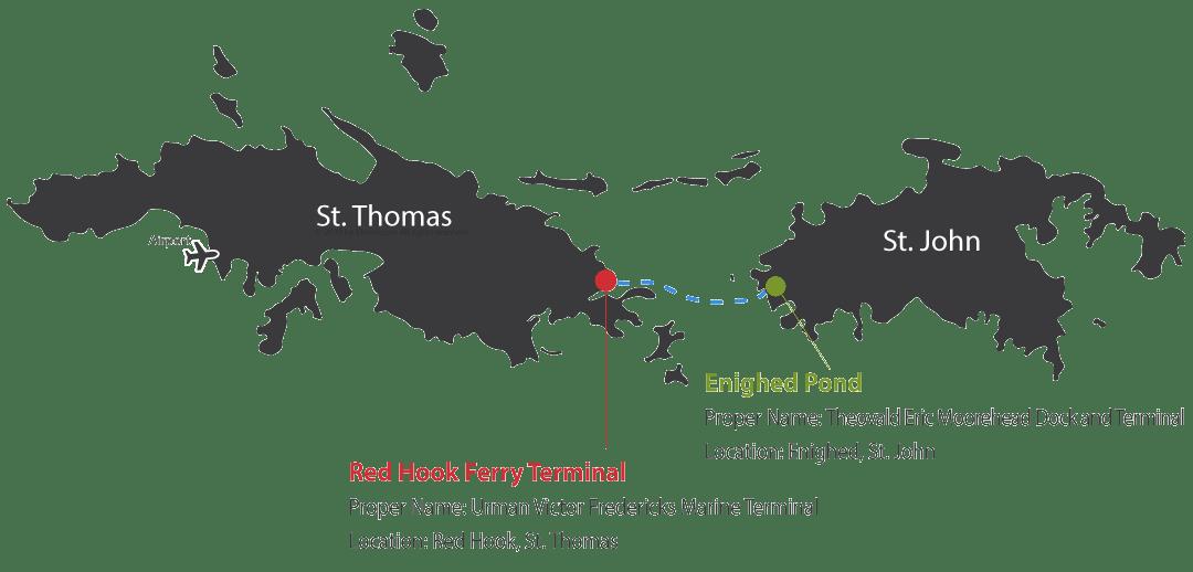 St  John – St  Thomas Car Barge - Virgin Islands