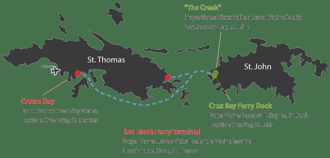 St  Thomas - St  John Ferry Service - Virgin Islands