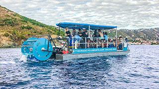 St. Thomas Cycle Boat