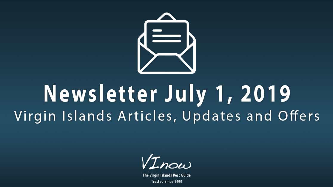 July in the Virgin Islands