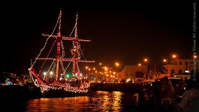 Lighted Boat Parade St. Thomas