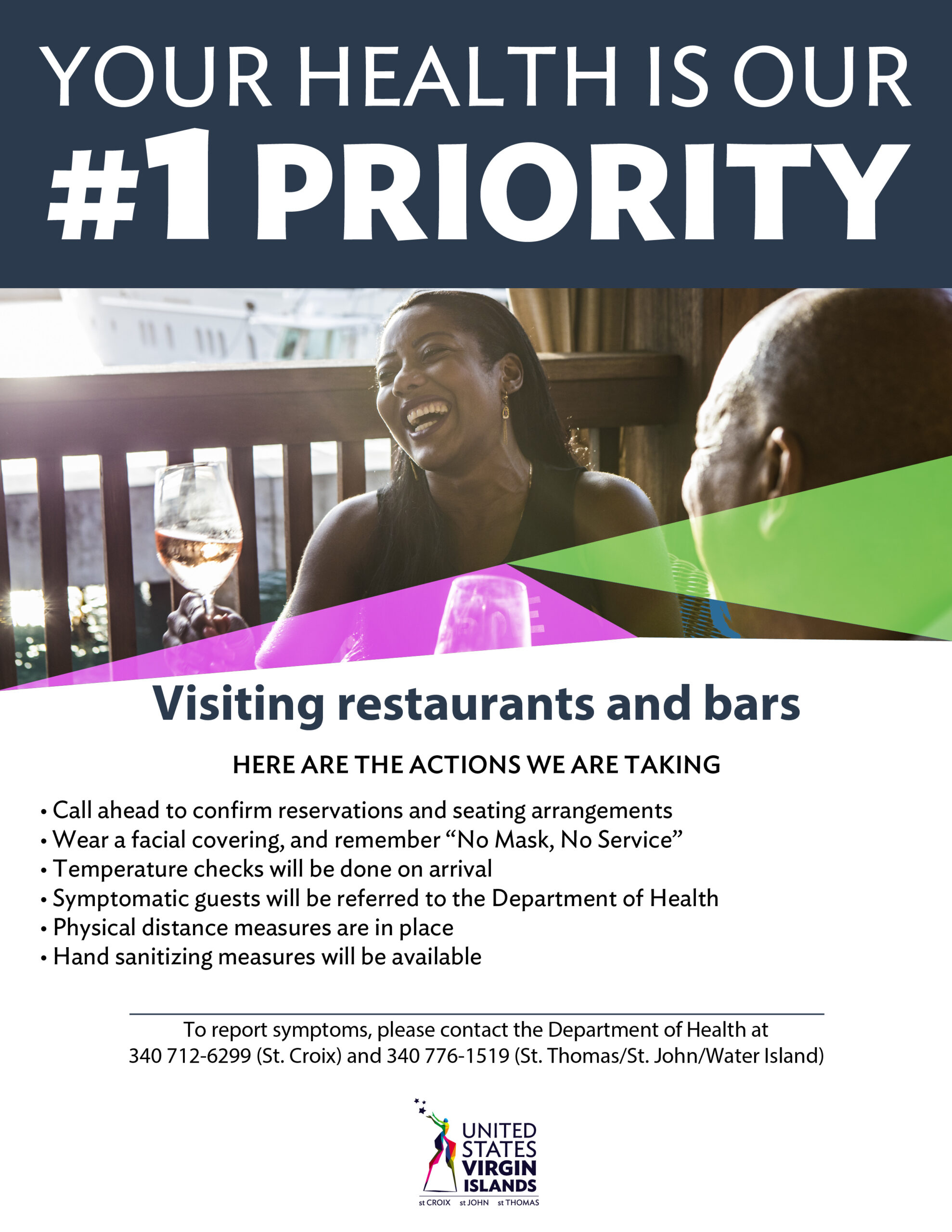 Visiting Restaurants and Bars Safety Guidelines