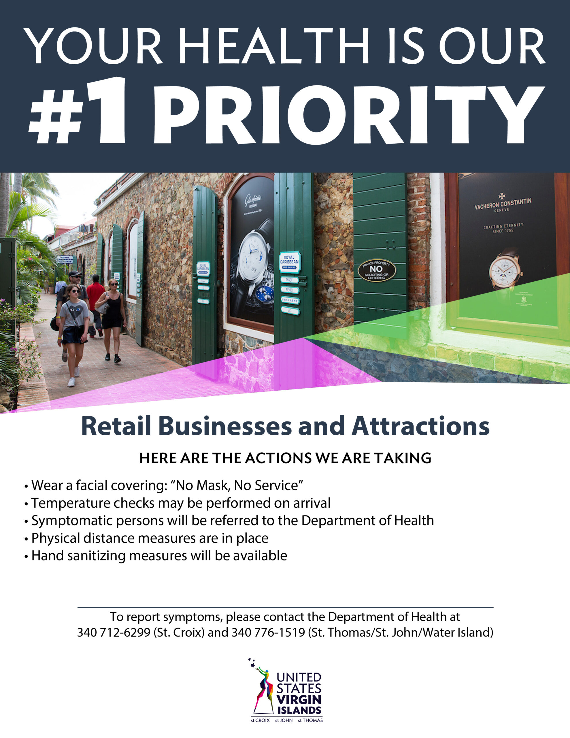 Retail Businesses and Attractions Safety Guidelines