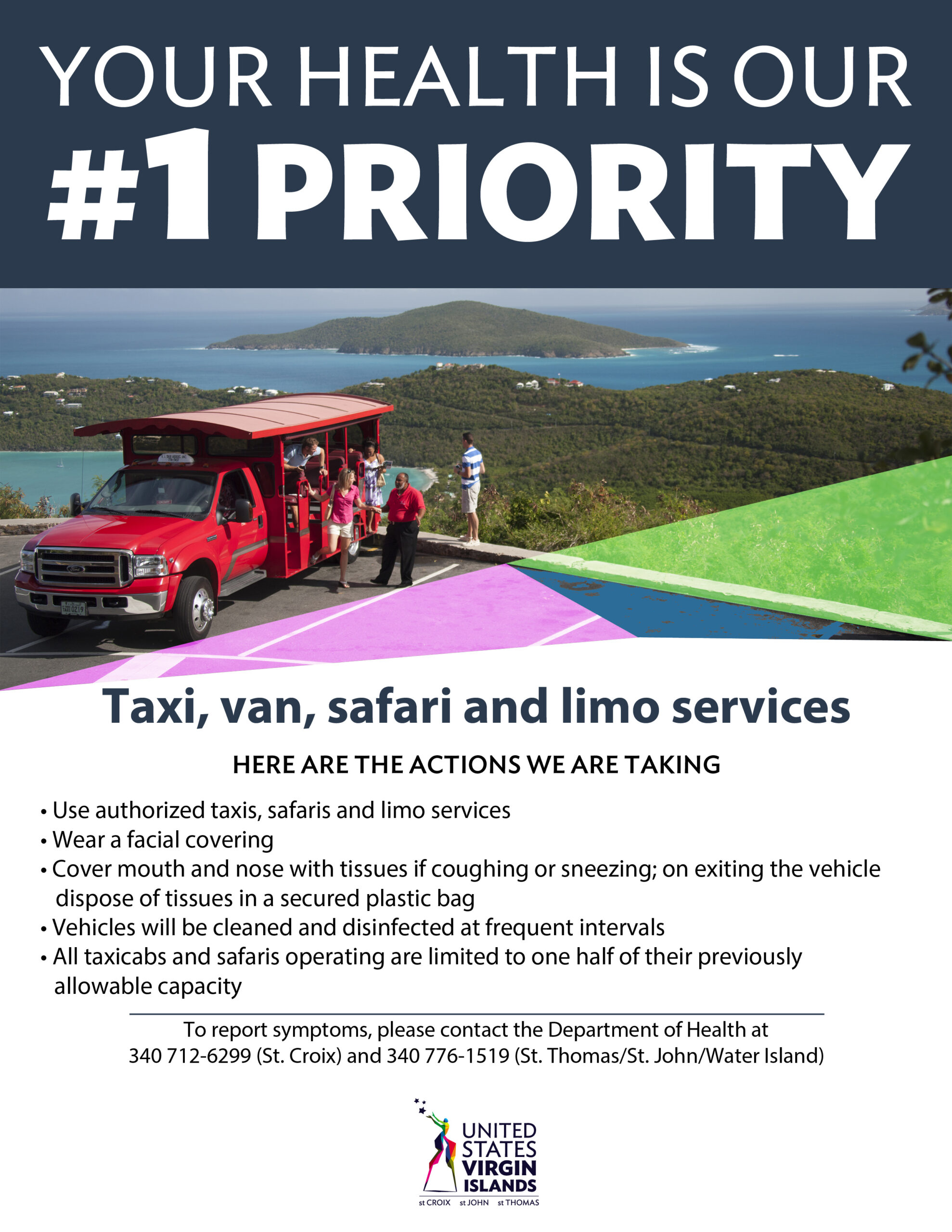 Taxi, Van, Safari, and Limo Services Safety Guidelines