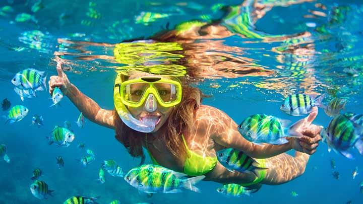 Virgin Islands First Time Snorkelers