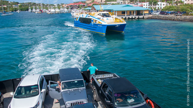 Ferry Service from St. Thomas