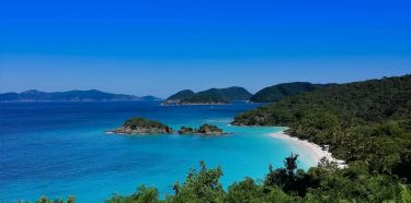 Trunk Bay, St. John lookout